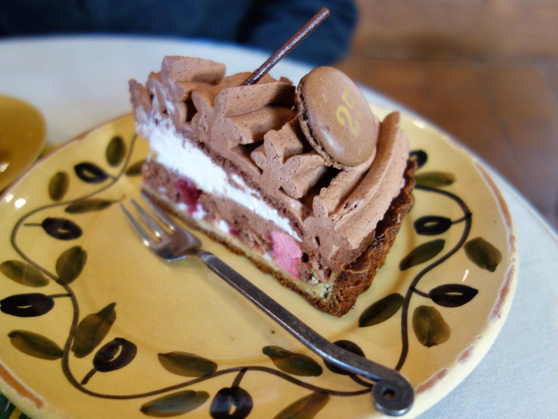 Tarte au chocolat tourbillon