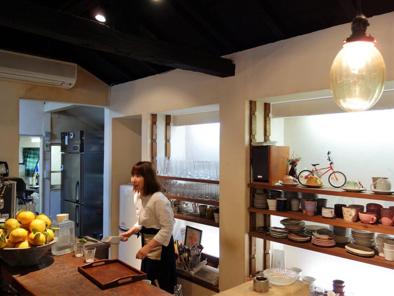 Inside Cafe Juru