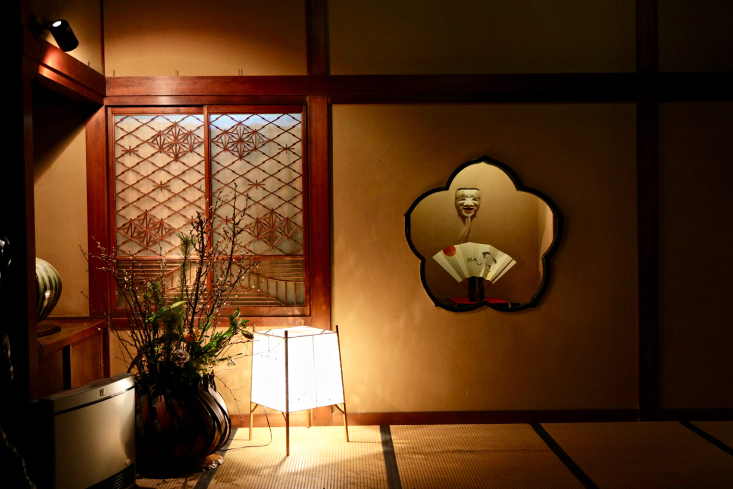 What you see inside the entrance gate of Ochiairo Murakami