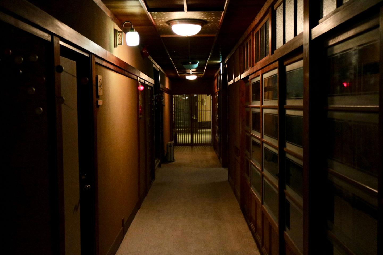 Quaint hallway at Ochiairo Murakami