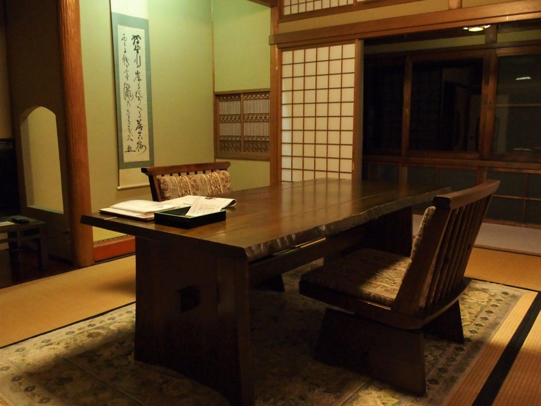 Inside a room at Ochiairo Murakami