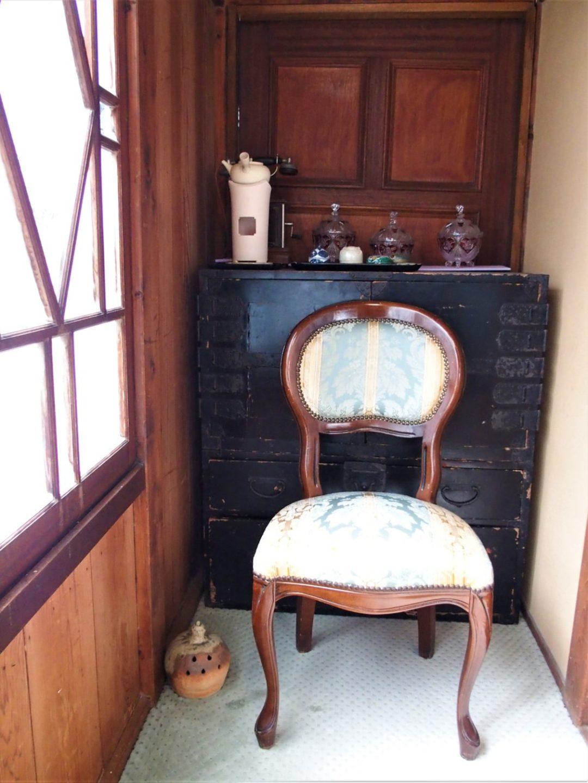 Old furniture at Ochiairo Murakami