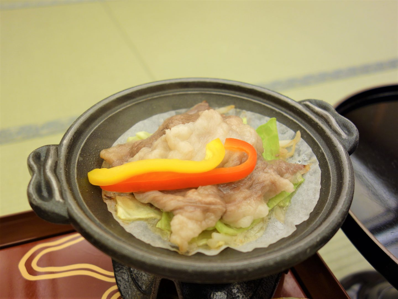 Shimane wagyu beef ready to be eaten