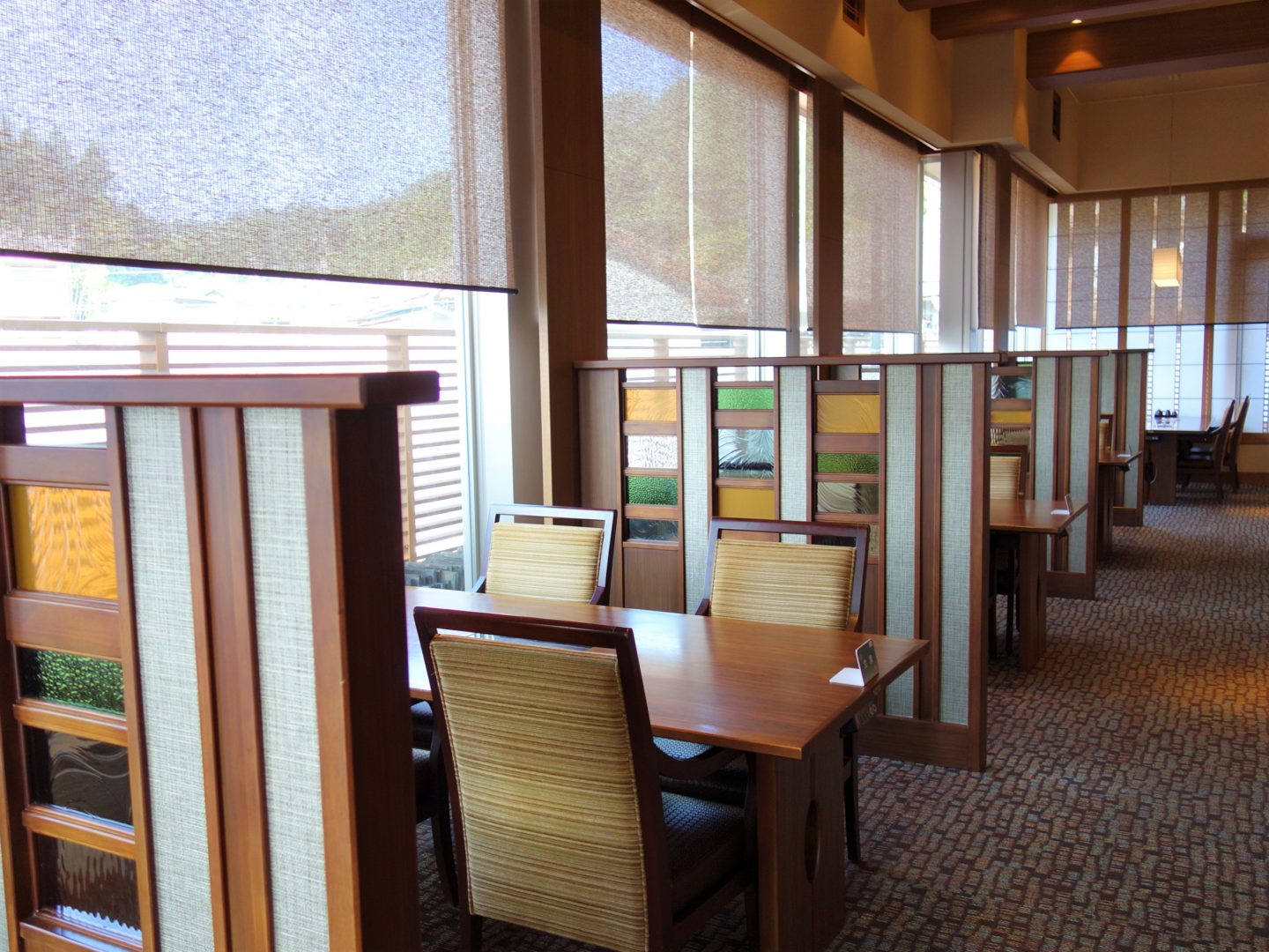 Restaurant serving breakfast at Kasuien Minami