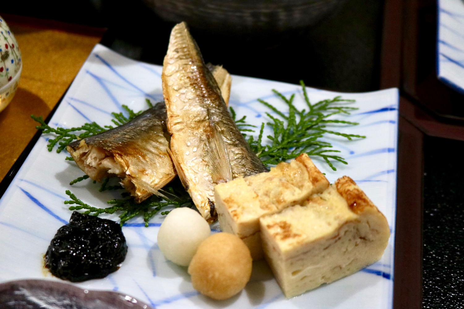 "Air-dried ""aji"" (Japanese horse mackerel)"