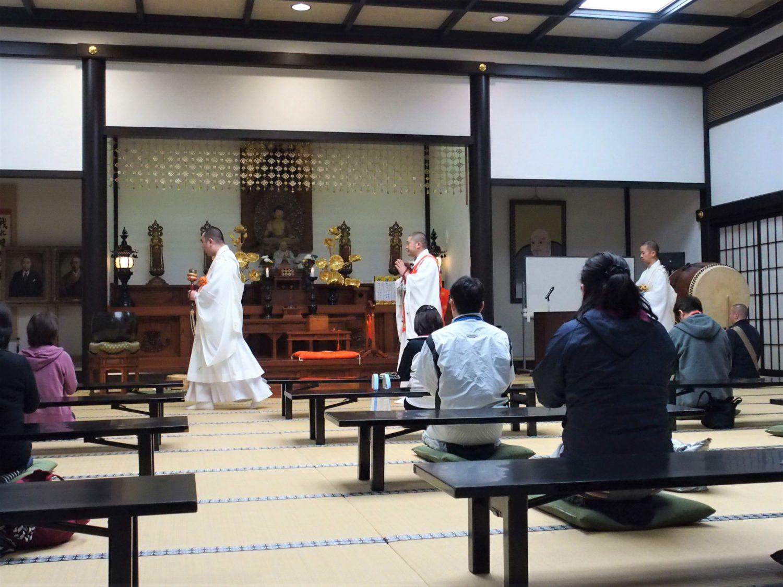 Shukubo opening ceremony