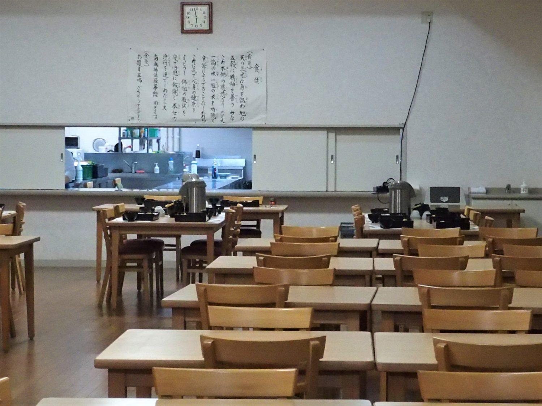 Temple's cafeteria