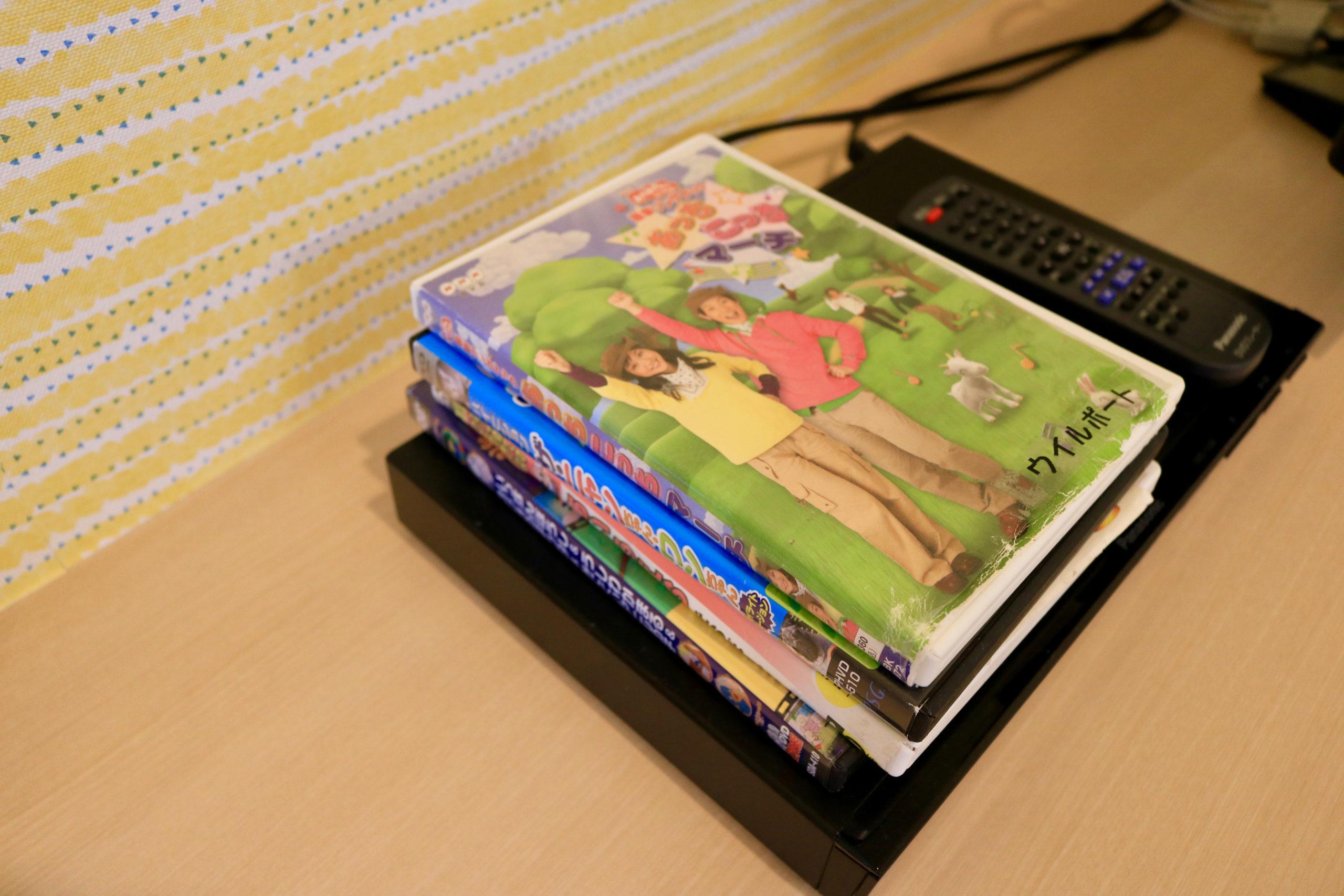 DVDプレーヤーと子供向けのDVD