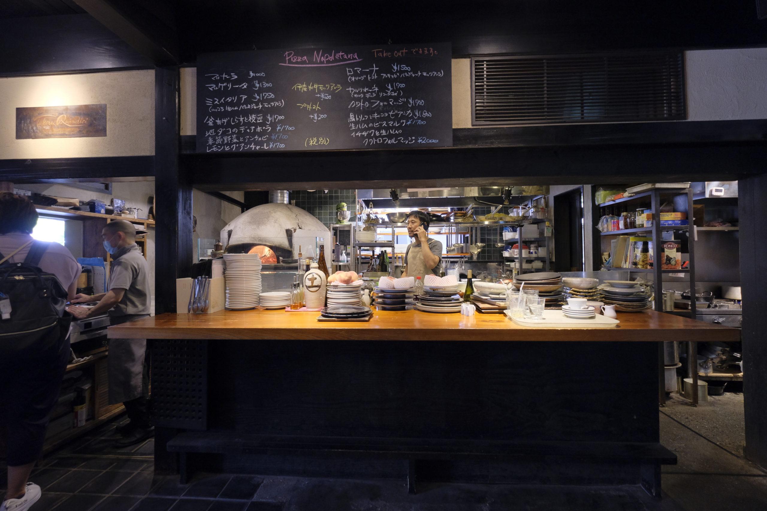 Takeru Quindiciの調理場
