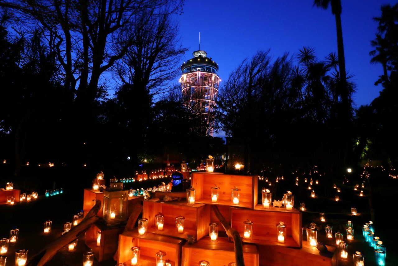 日本最大級のキャンドルイベント「湘南キャンドル2020」が10月17日から11月8日まで開催