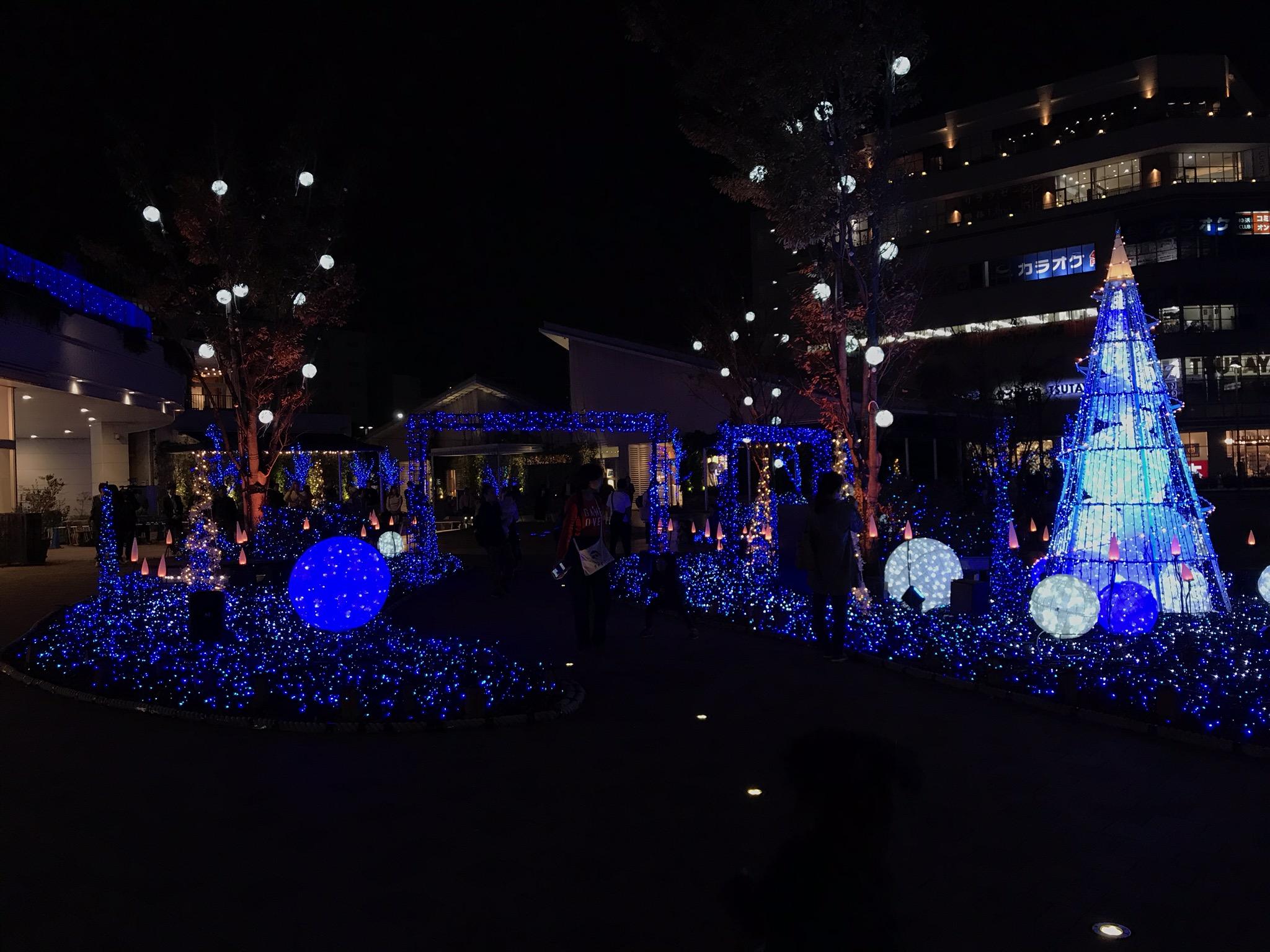 テラスモール湘南クリスマスイルミネーション2019
