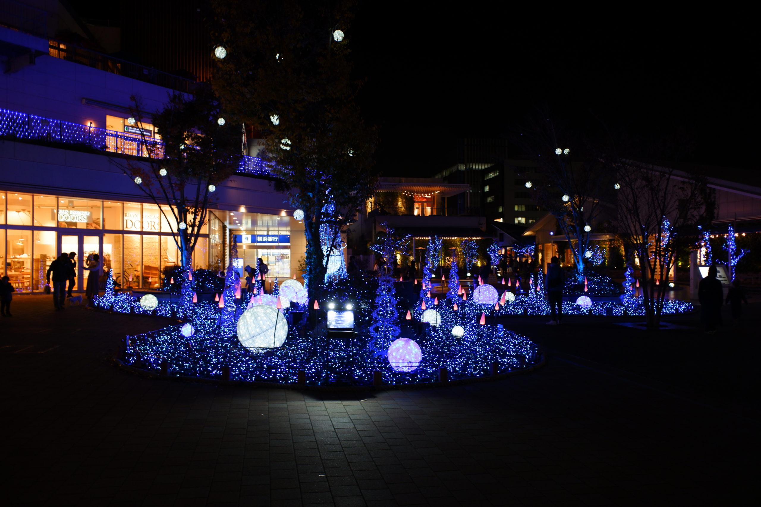 テラスモール湘南クリスマスイルミネーション2020