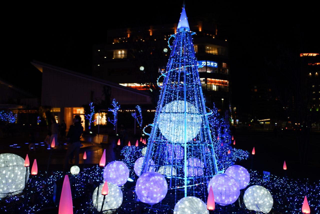 「テラスモール湘南クリスマスイルミネーション2020」が開催中