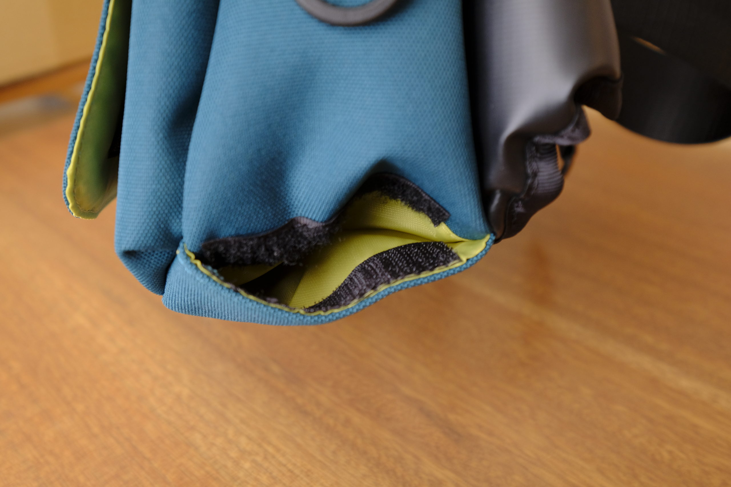 パパバッグのポケット