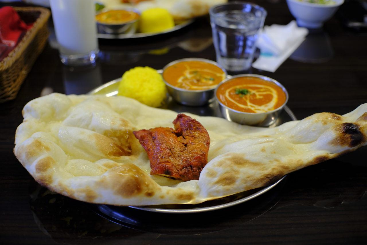 茅ヶ崎のイオンで本格的なインドカレーが食べられて「Happy」
