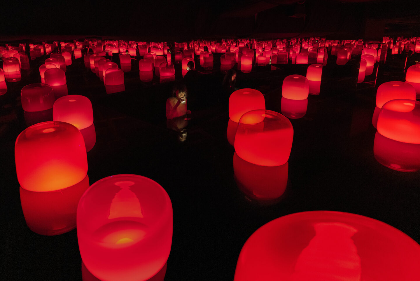 Teamlab: Tea Time in the Soy Souce Storehouse