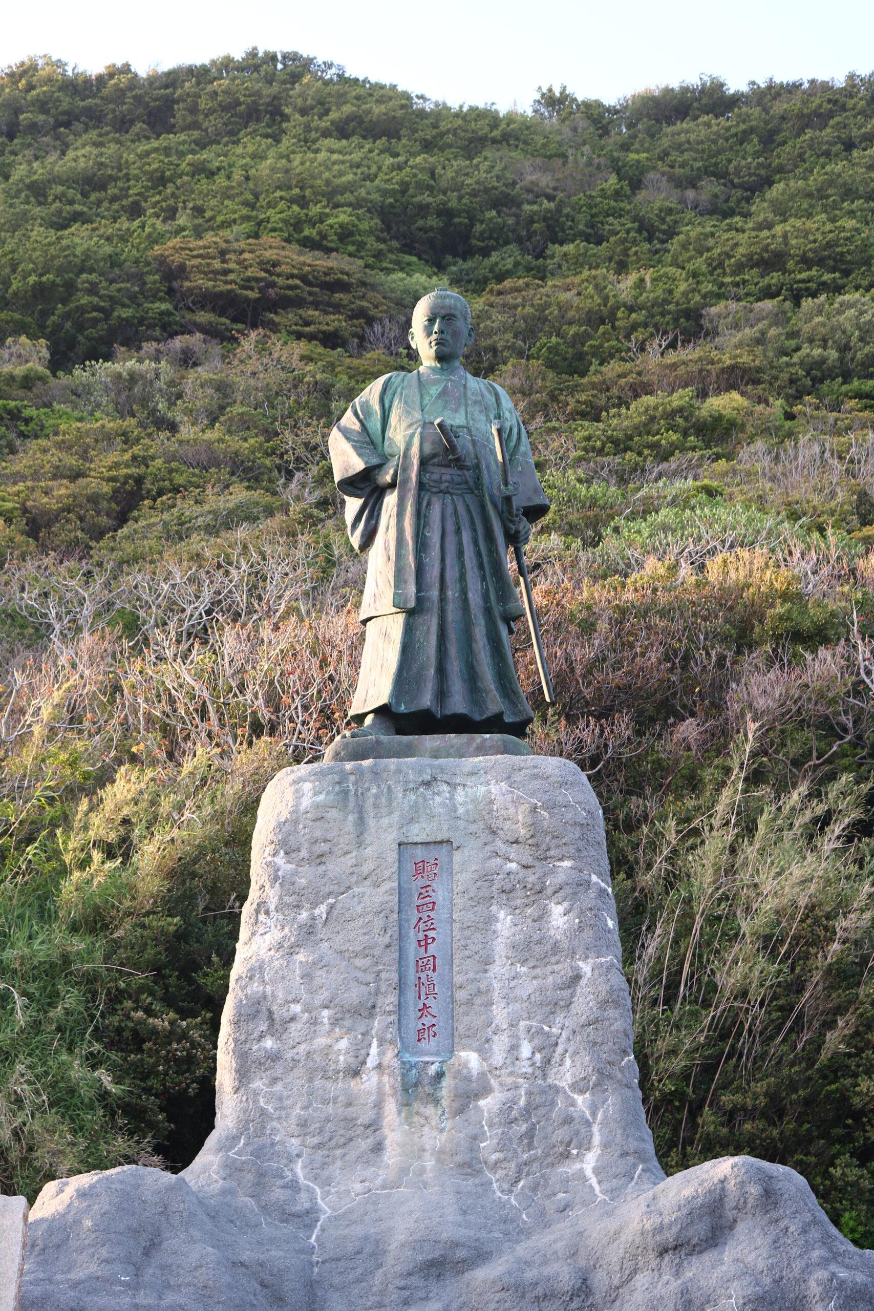 中岡慎太郎銅像