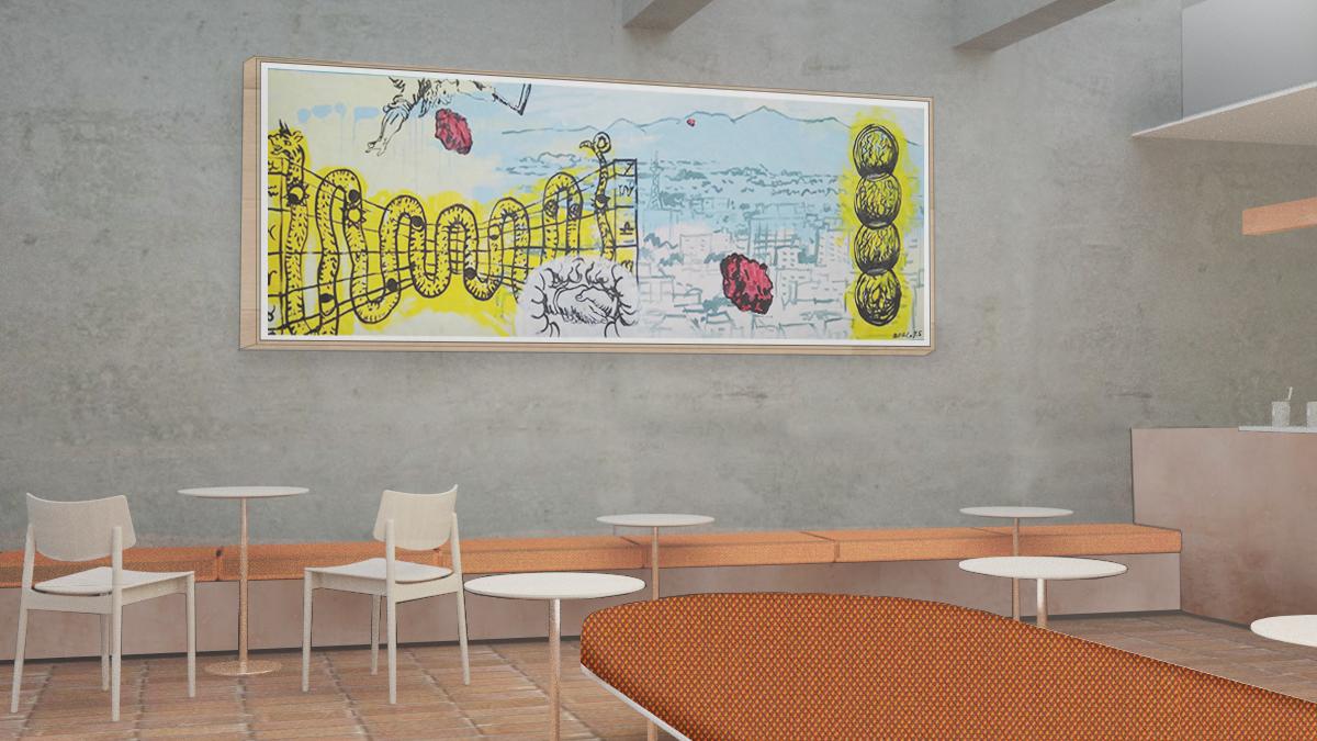 ブルーボトルコーヒー 白井屋カフェ 店内イメージ